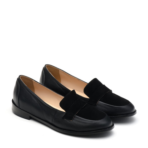 Black loafers perfoct for work