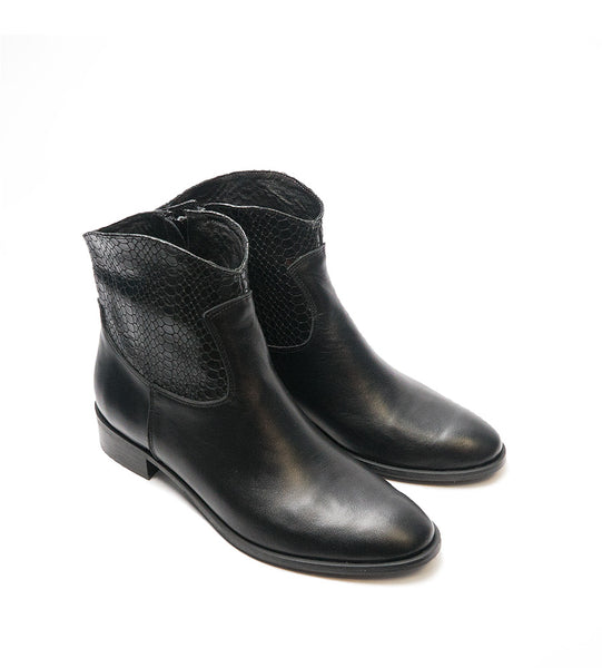 Ankle boots perfect for cool days handmade from high quality real leather