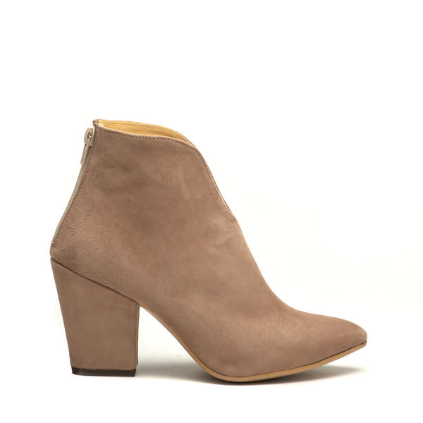 cappuccino ladies high heel ankle boots perfect for cold days. Boots are very comfortable and simple stylish