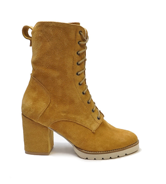 stylish ladies ankle boots great for cooler days in honey colour