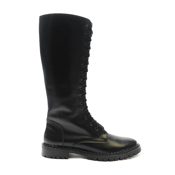 Real leather ladies winter boots