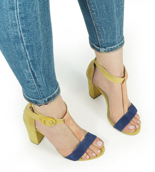 High heel Sandals for the hotest day, great for walk during the summer