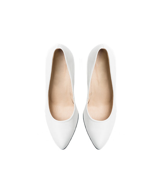 white office shoes very comfy and simple fashion from the best quality real leather