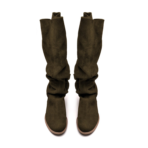 comfortable and stylish real leather ladies winter boots