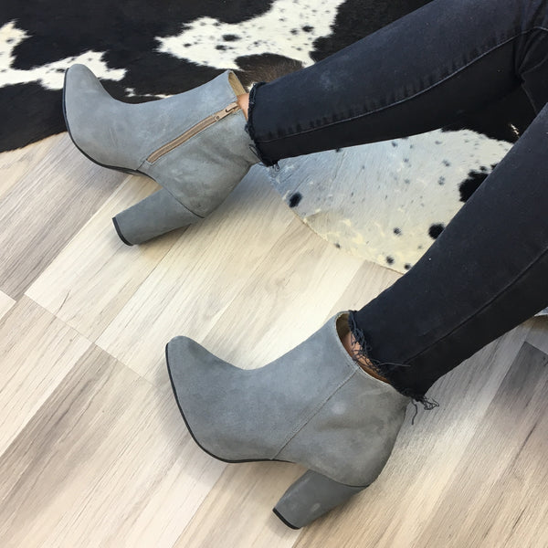 Handmade real leather ankle boots