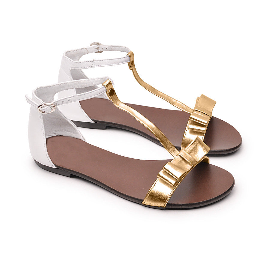 Ladies sandals made from quality real leather