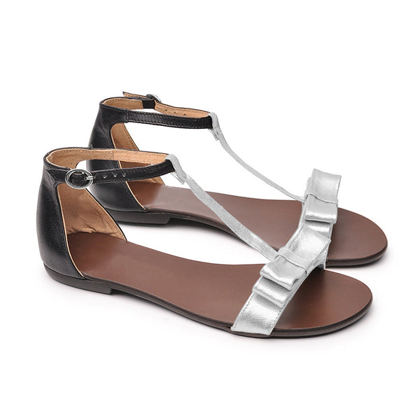 handmade real leather sandals