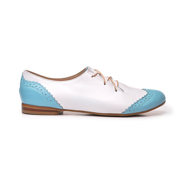 Handmade real leather ladies shoes