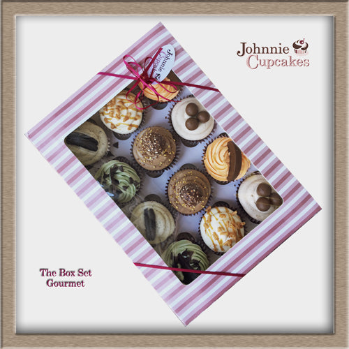 Cupcake Box Set Gourmet