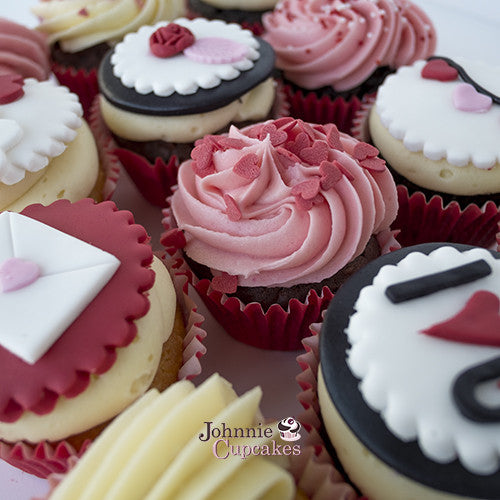 Valentines Day Cupcakes - Johnnie Cupcakes