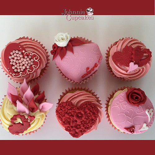 Valentines Day Cupcakes Special - Johnnie Cupcakes