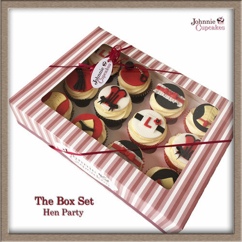Hen Party cupcakes. - Johnnie Cupcakes