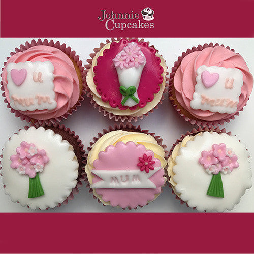 Mothers Day Cupcakes Pink