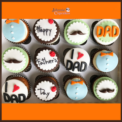 Father's Day Cupcakes - Johnnie Cupcakes