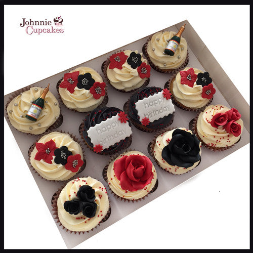 Happy Birthday cakes and cupcakes. - Johnnie Cupcakes