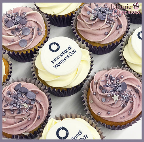 International Women's Day Cupcakes - Johnnie Cupcakes