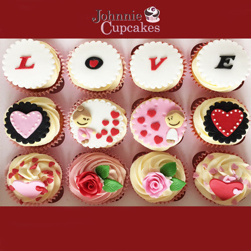 Love You cupcakes. - Johnnie Cupcakes