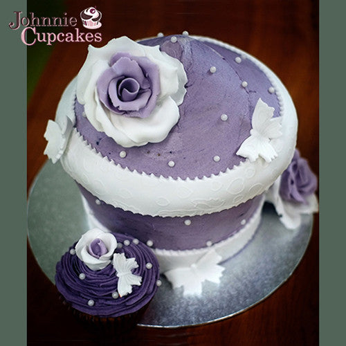 Giant Cupcake Purple