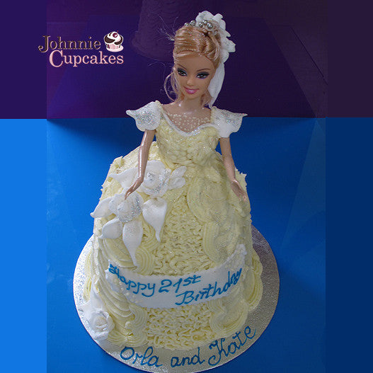 Communion doll cake - Johnnie Cupcakes