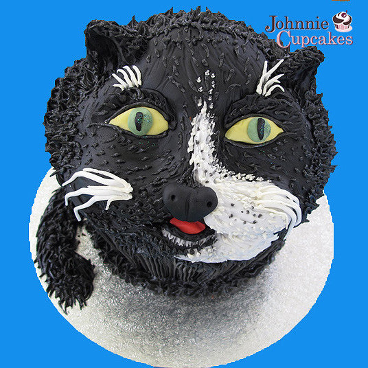 Giant Cupcake Cat - Johnnie Cupcakes