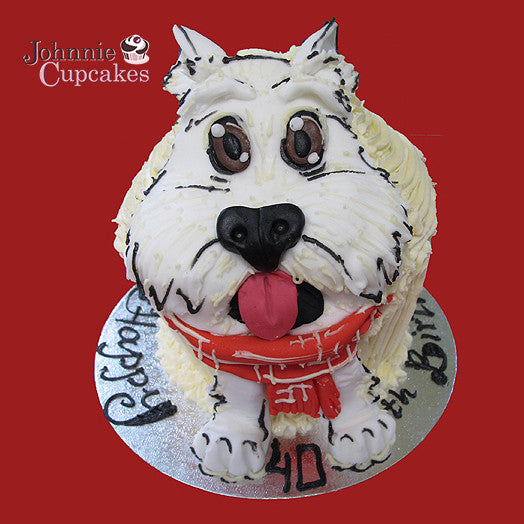 Giant Cupcake Dog - Johnnie Cupcakes