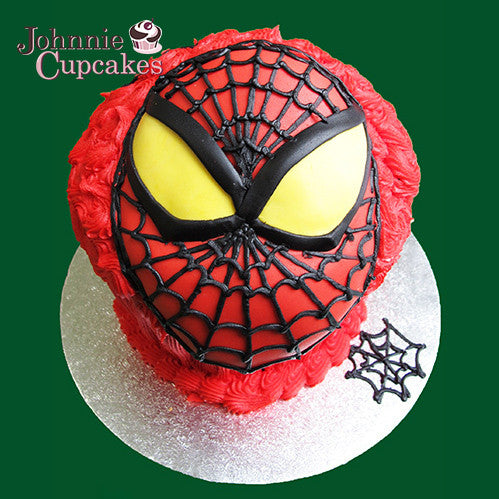 Giant Cupcake Spiderman - Johnnie Cupcakes