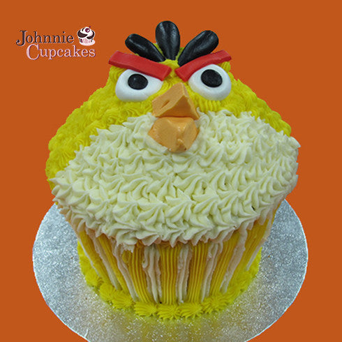 Giant Cupcake Angry Birds - Johnnie Cupcakes