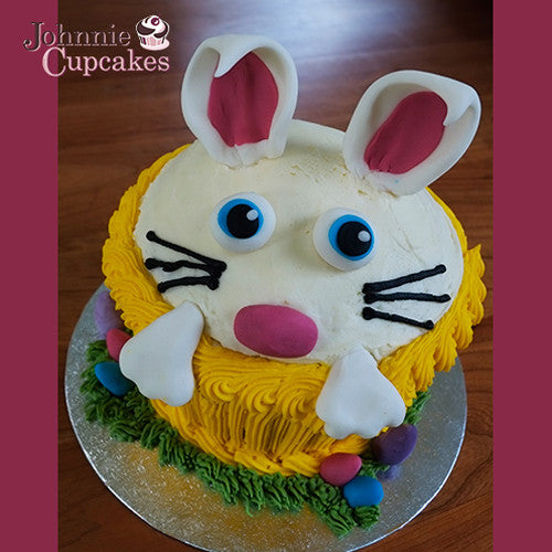 Giant Cupcake Bunny - Johnnie Cupcakes