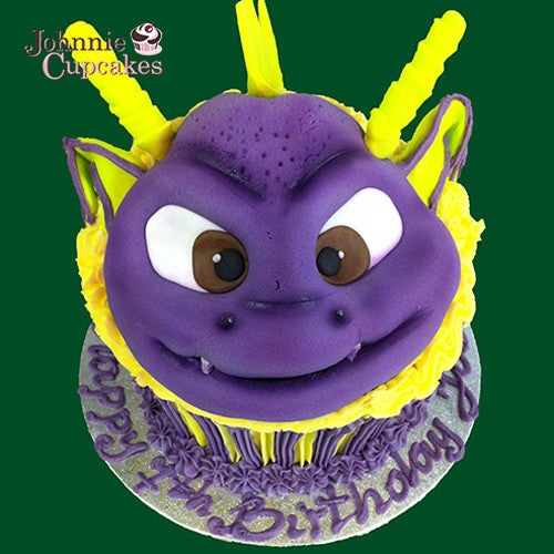 Giant Cupcake Dragon spyro - Johnnie Cupcakes