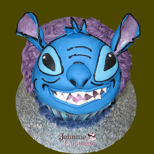 Giant Cupcake Lilo and Stitch - Johnnie Cupcakes