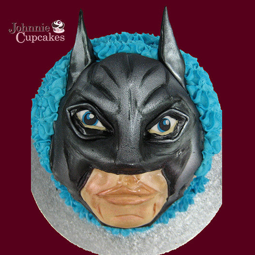 Giant Cupcake Batman - Johnnie Cupcakes