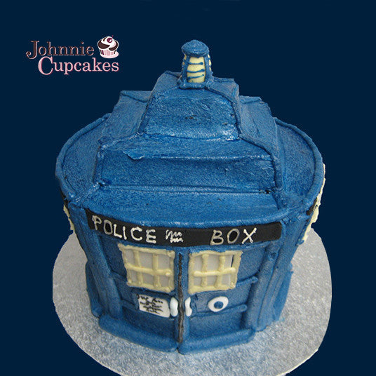 Giant Cupcake Dr Who - Johnnie Cupcakes
