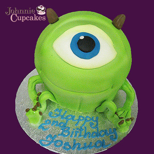 Giant Cupcake one eyed monster - Johnnie Cupcakes