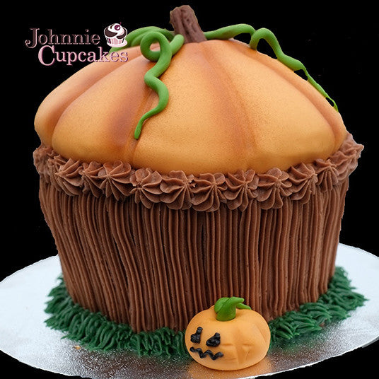 Giant Cupcake Halloween - Johnnie Cupcakes
