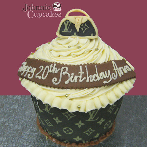 Giant Cupcake Louis Vuitton - Johnnie Cupcakes
