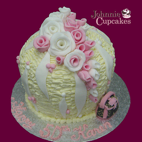 Giant Cupcake Flowers - Johnnie Cupcakes