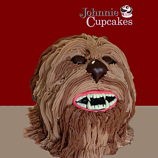Giant Cupcake Star Wars Chewbacca - Johnnie Cupcakes