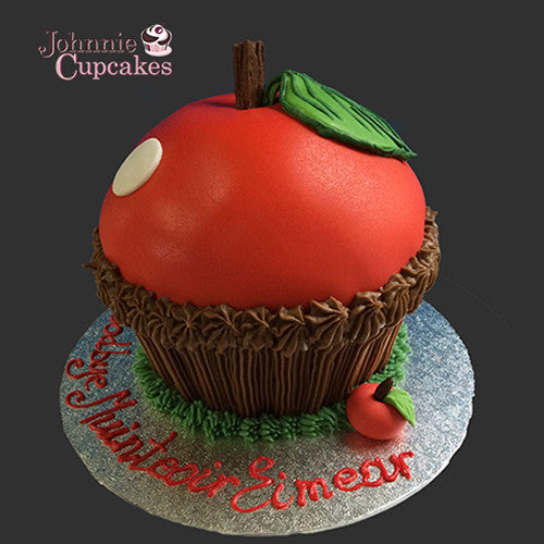 Giant Cupcake Apple - Johnnie Cupcakes