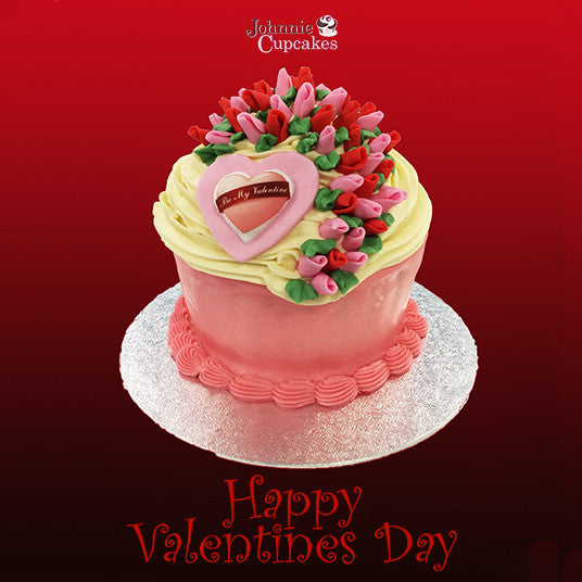 Giant Cupcake Valentines Day