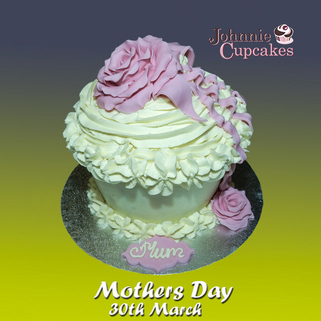 Giant Cupcake Mothers Day