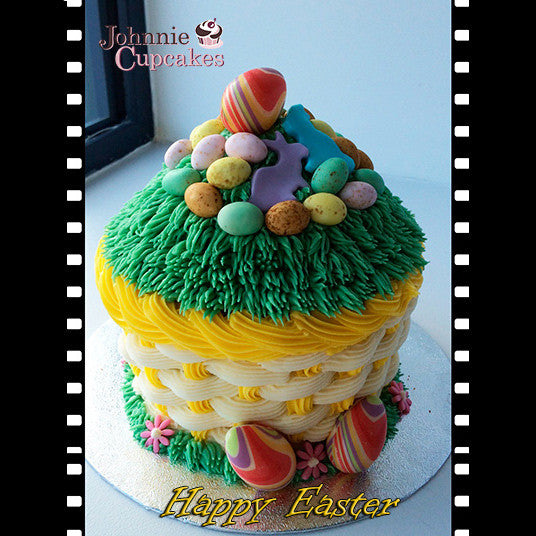 Giant Cupcake Easter