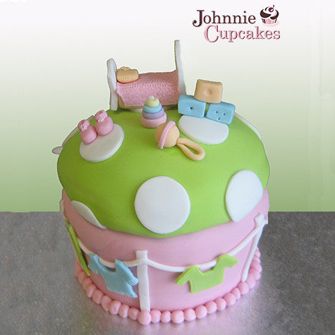 Giant Cupcake Baby - Johnnie Cupcakes