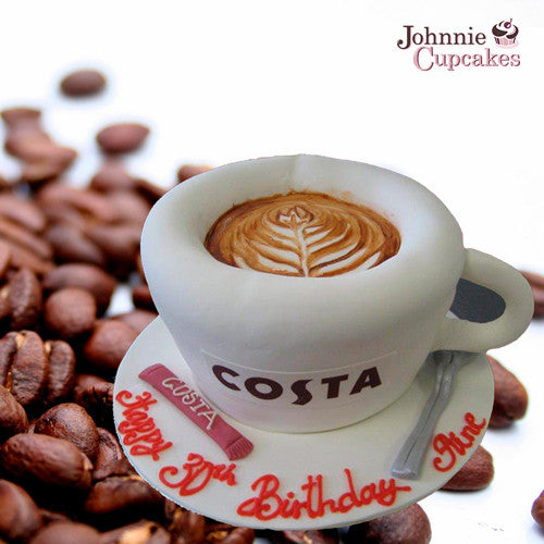 Costa Coffee Cake - Johnnie Cupcakes