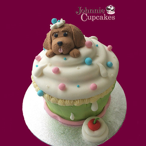 Giant Cupcake Puppy - Johnnie Cupcakes