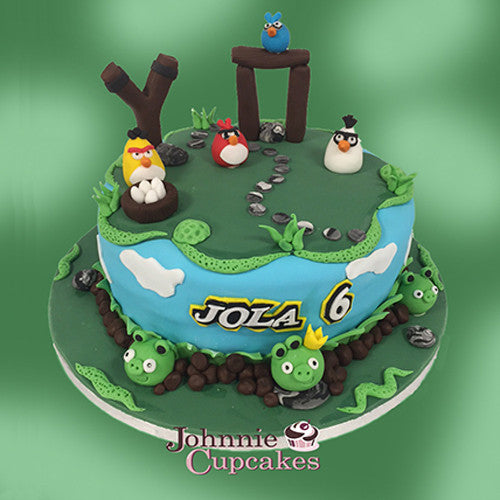 Angry Birds - Johnnie Cupcakes