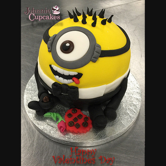 Giant Cupcake Minion - Johnnie Cupcakes