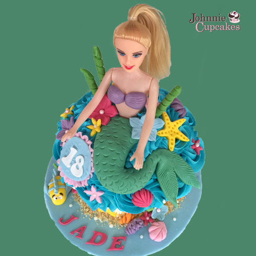 Giant Cupcake mermaid