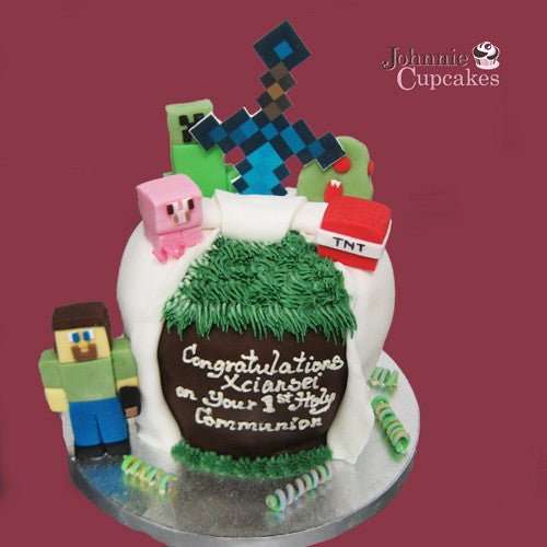 Giant Cupcake Minecraft - Johnnie Cupcakes