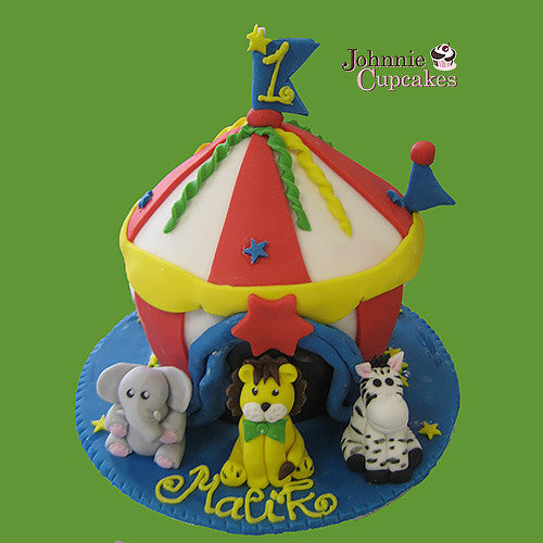 Giant Cupcake Circus Tent - Johnnie Cupcakes
