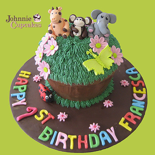 Giant Cupcake Zoo - Johnnie Cupcakes
